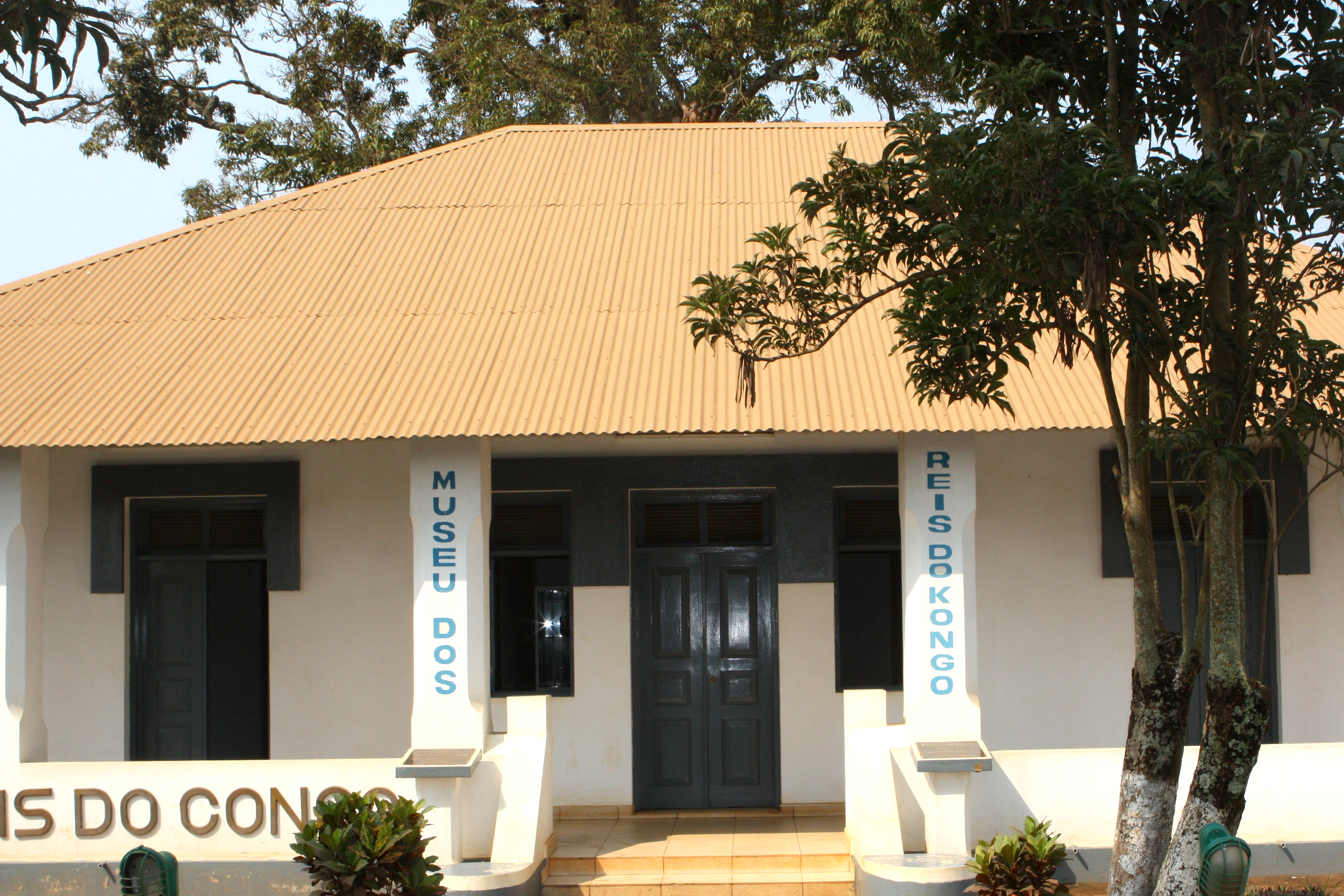 Museu Dos Reis Do Congo na província do Zaire